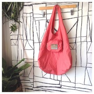 Coach Coral Foldable Traveler Shopper Tote